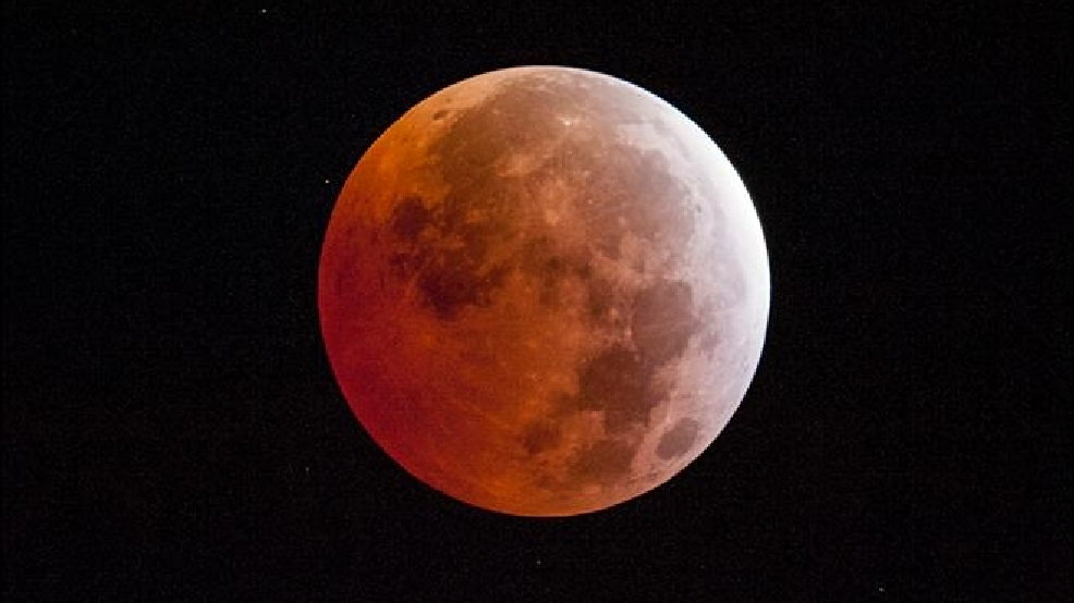 Supermoon plus eclipse equals rare sky show Sunday night